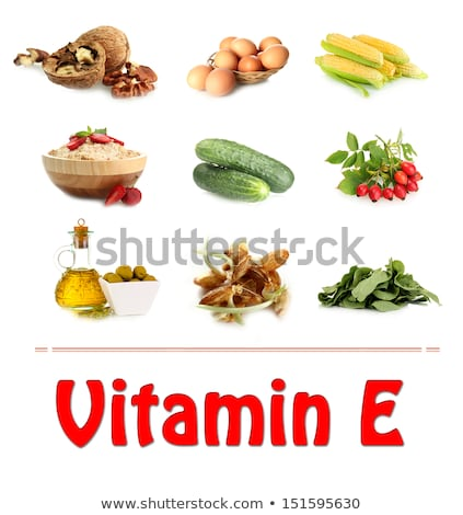 Assortment food sources of vitamin E Stock photo © furmanphoto