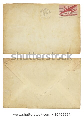 Vintage United States Airmail Envelope Stock photo © 3mc