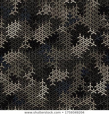 Ejército militar textura patrón guerra Foto stock © SArts