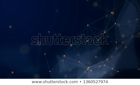 abstract digital technology background with network connection l Stock photo © SArts