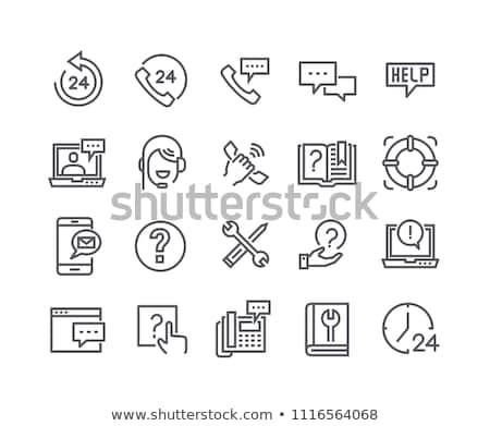 imprenditore · consulente · impiegato · utilizzando · il · computer · portatile · computer · bianco - foto d'archivio © lovleah
