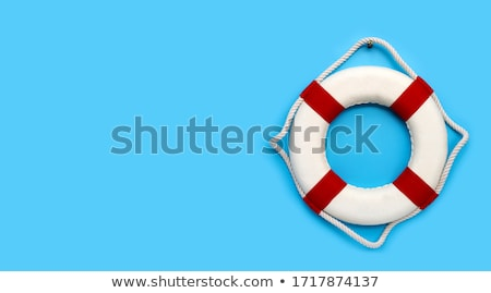 Life-belts hanging on a ship Stock photo © duoduo