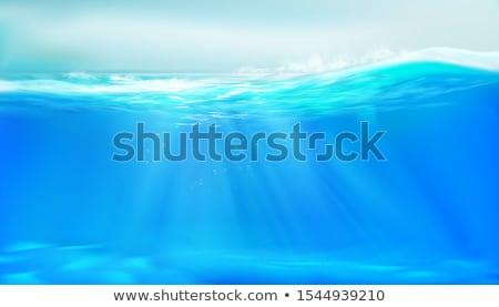 Water Beam Splashing Stock photo © Alvinge