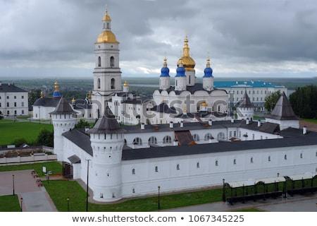 Kremlin karmaşık kasaba gökyüzü duvar manzara Stok fotoğraf © Aikon