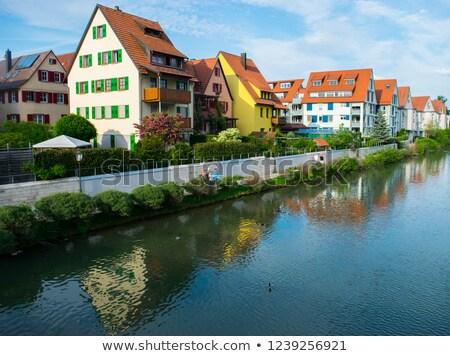 Wertheim Old Town city view Stock photo © prill
