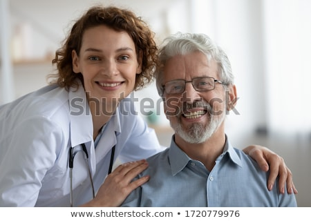Senior Medical - Good Checkup stock photo © lisafx