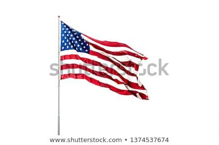 US Flag on Pole  Stock photo © frank11
