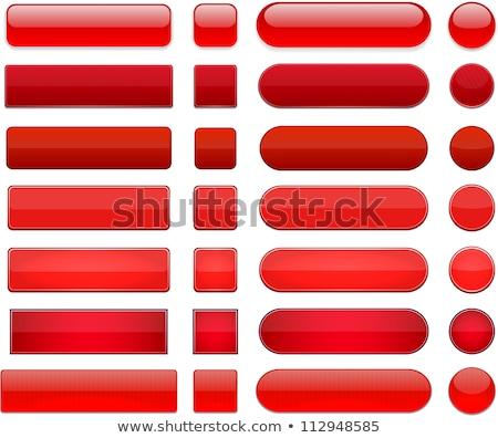 ベクトル · 赤 · ガラス · ボタン · 電源 · アイコン - ストックフォト © oblachko