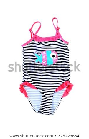 Colorful fused female swimsuit. Stock photo © RuslanOmega
