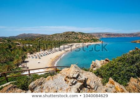 sereno · spiaggia · noto · isola · Grecia · acqua - foto d'archivio © michey
