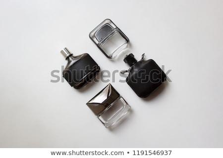 Elegante mannelijke parfum geïsoleerd witte vrouwen Stockfoto © gsermek