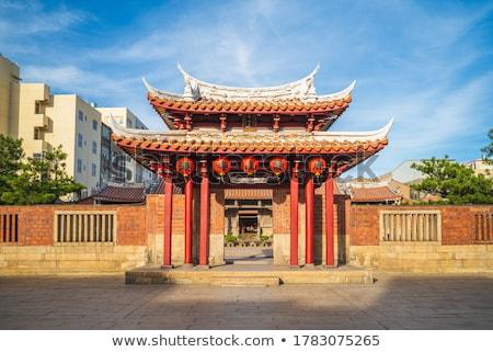 budist · tapınak · Tayvan · bir · ünlü · gökyüzü - stok fotoğraf © searagen