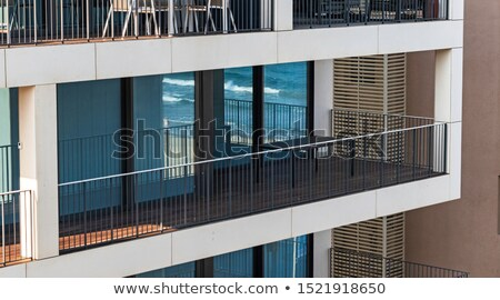 Glass Building Relection Stock photo © Gordo25