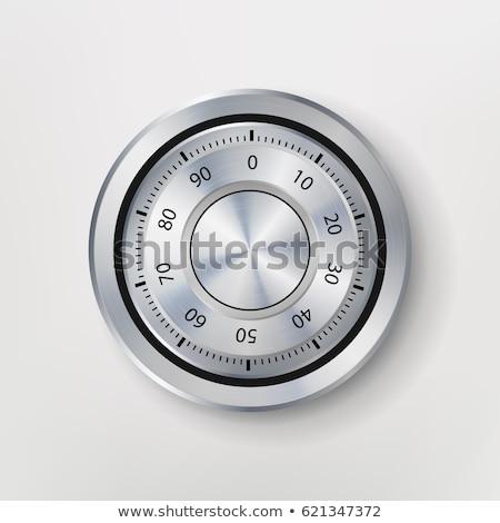 заблокированный безопасной серый белый металл окна Сток-фото © limbi007