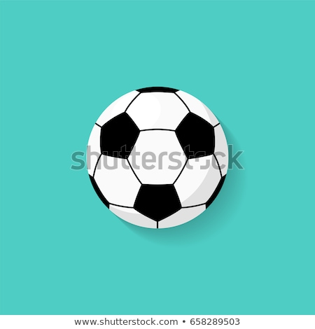 Soccer Ball vector illustration. stock photo © Bytedust