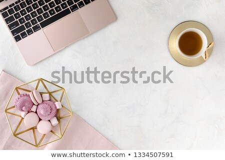 beautiful stylish herbal table stock photo © julietphotography