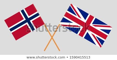 Zászló Egyesült Királyság Nagy-Britannia északi Írország brit zászló Stock fotó © Hermione