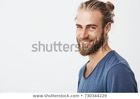 портрет модный человека борода 30 лет старик Сток-фото © aladin66