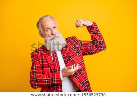 Strong will - elderly hands Stock photo © Lighthunter