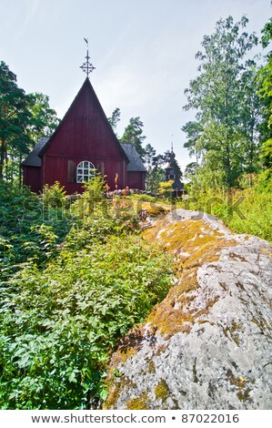 Karuna Church, Finland Stock photo © tainasohlman