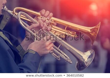 two trumpets Stock photo © Marfot