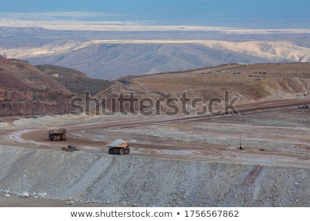 Stock photo: Strip Mining Operation