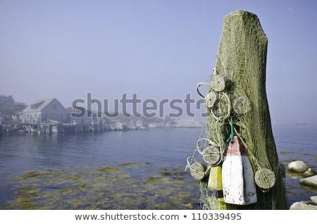 Fish stores in Indian Harbour, Nova Scotia Canada Stock photo © RAM