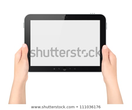 android with blank book stock photo © kirill_m