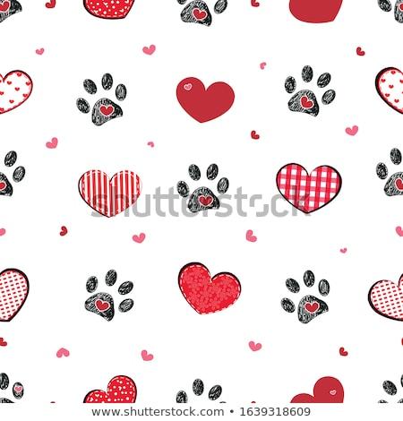 Valentin nap végtelenített bannerek gyűjtemény papír textúra Stock fotó © simo988