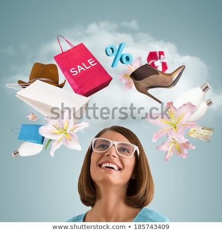 bevásárlókocsi · háló · interfész · ikon · fehér · átlátszó - stock fotó © hasloo