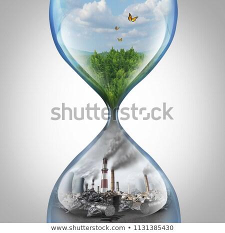 Enviroment pollution Stock photo © Nejron