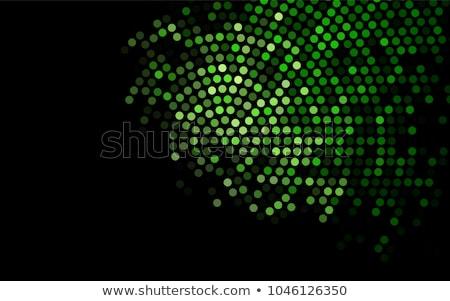 Abstract dark green tech background Stock photo © saicle