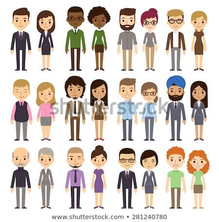 People cartoon Stock photo © kiddaikiddee