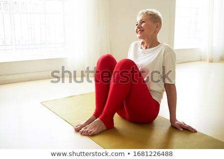 Positive female Stock photo © badmanproduction