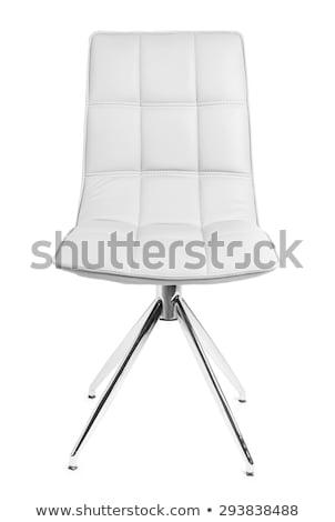 Председатель изолированный белый расслабиться Сток-фото © Sarkao