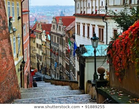 cidade · velha · rua · Praga · foto · detalhes · República · Checa - foto stock © Dermot68