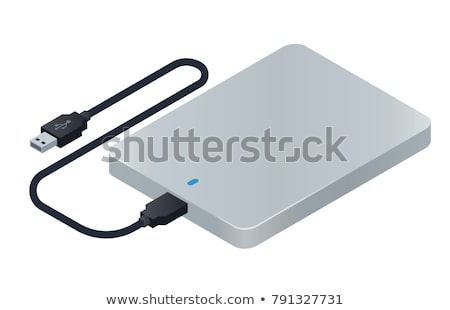 external usb hard disc Stock photo © FOKA