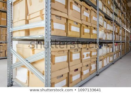 Cards in boxes archive Stock photo © Valeriy