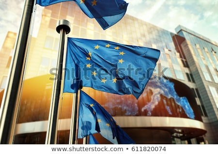 Euro sign in front of the European Central Bank building Stock photo © AndreyKr