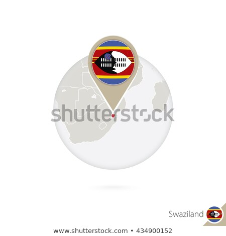 swaziland flag map Stock photo © tony4urban