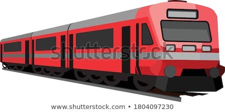 Red train Stock photo © adrenalina