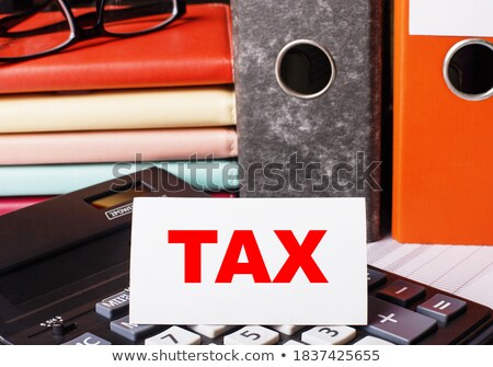 Red Office Folder with Inscription Payments. Stock photo © tashatuvango