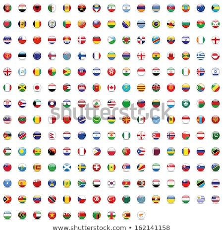 Франция Ангола флагами головоломки изолированный белый Сток-фото © Istanbul2009