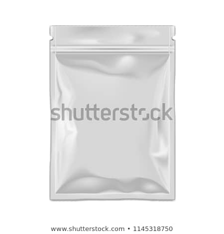 Silver foil sachets Stock photo © magraphics