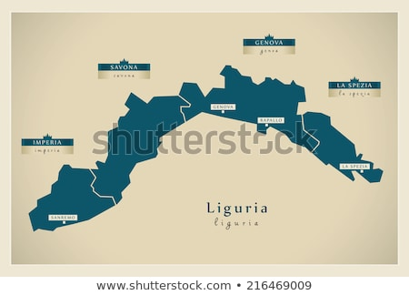 Map of Italy, Imperia Stock photo © Istanbul2009