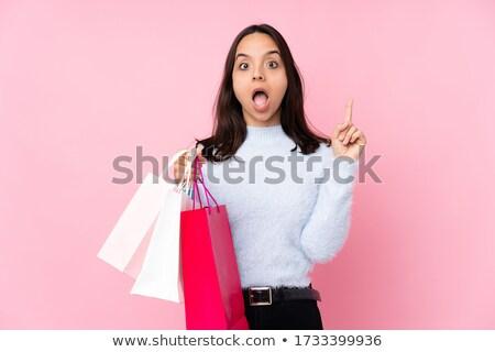 Think about shopping Stock photo © alphaspirit