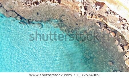 hermosa · playa · mediterráneo · agua · mundo - foto stock © lunamarina