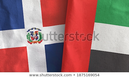 United Arab Emirates and Dominican Republic Flags Stock photo © Istanbul2009