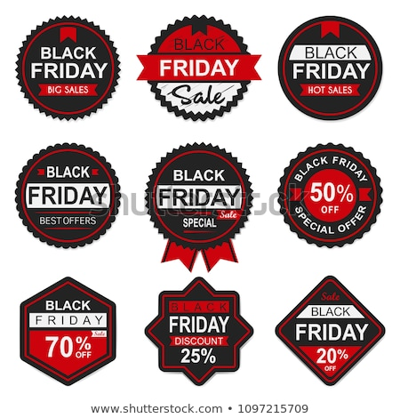 collection of tags with the text black friday deals stock photo © zerbor