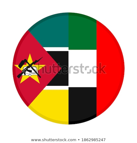 United Arab Emirates and Mozambique Flags Stock photo © Istanbul2009
